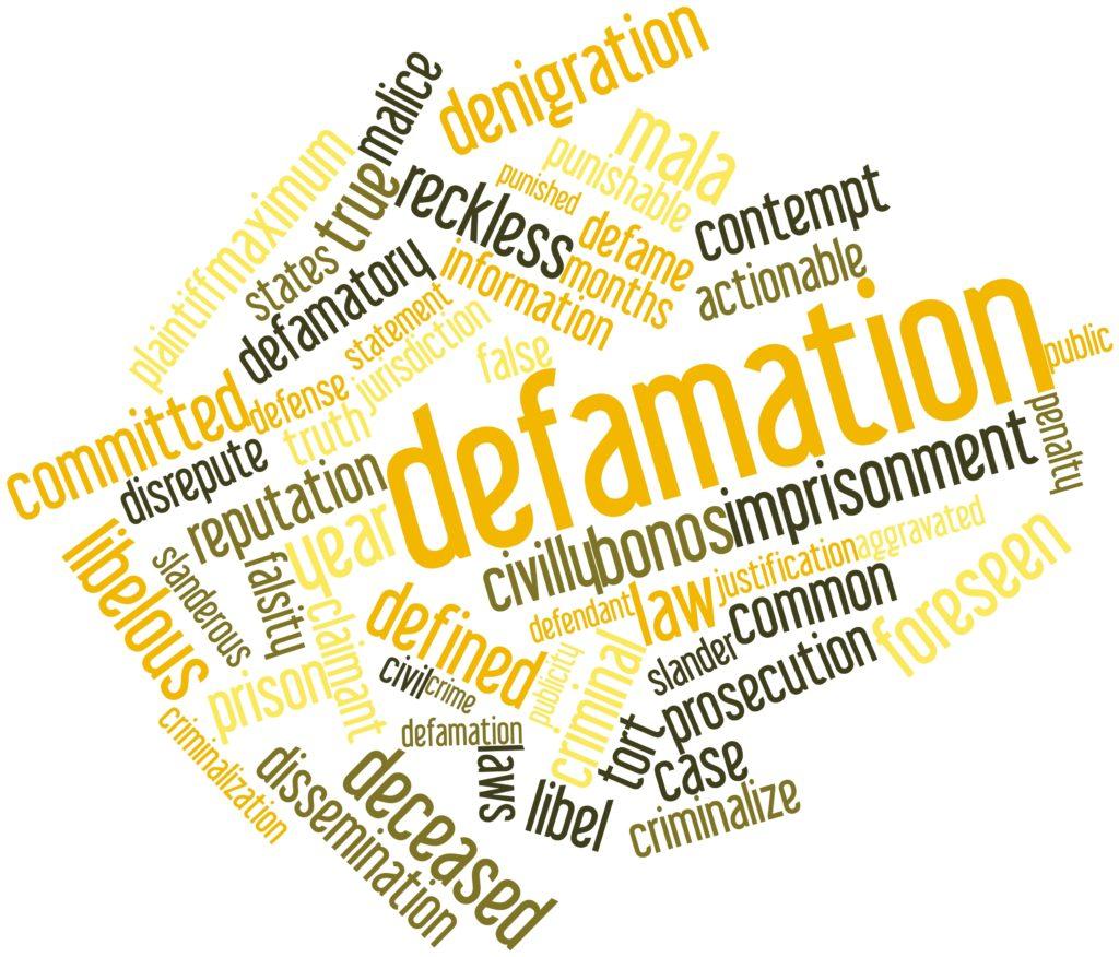 cyber defamation